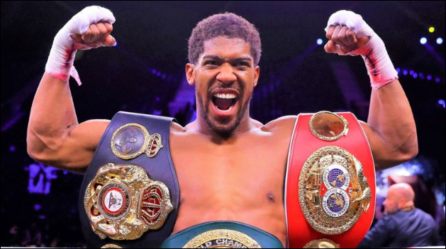 Anthony Joshua To Defend His Heavyweight Titles On June 20th; Checkout Who He Will Fight