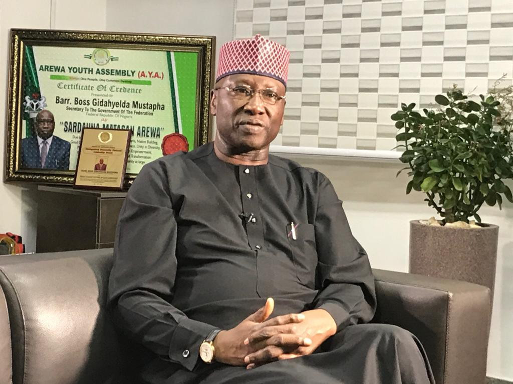 Coronavirus is deadlier than Boko Haram - SGF Boss Mustapha lindaikejisblog