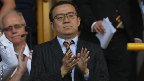 Wolves chairman Jeff Shi