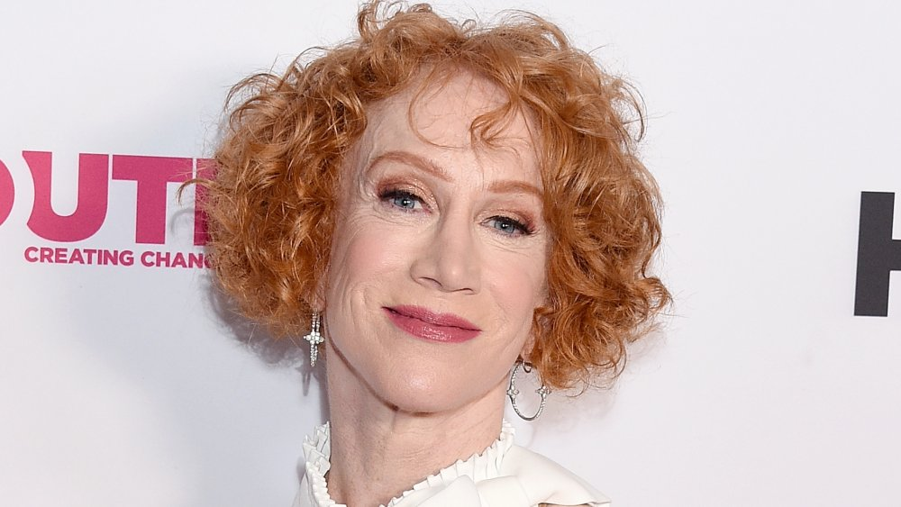 Kathy Griffin calls out Trump over lack of coronavirus testing