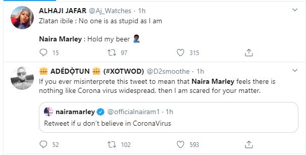 Naira Marley dragged after saying he does not believe in coronavirus lindaikejisblog 2