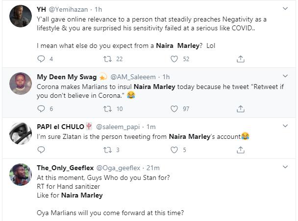 Naira Marley dragged after saying he does not believe in coronavirus lindaikejisblog 5