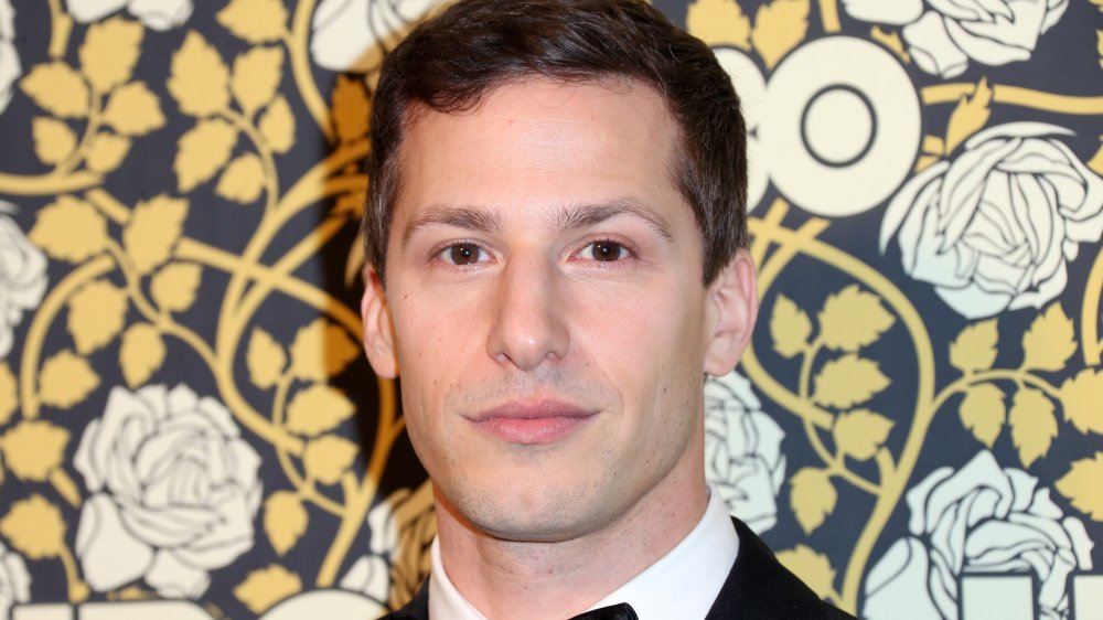 Where does Andy Samberg live and how big is his house?