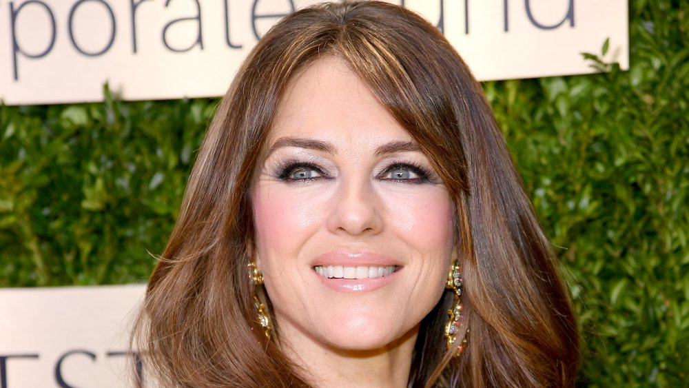 Elizabeth Hurley's son looks exactly like her