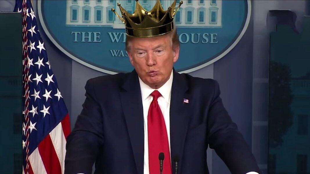GOP Group Dethrones 'King' Trump Over Coronavirus Power Grab In Fox News Ad on tv