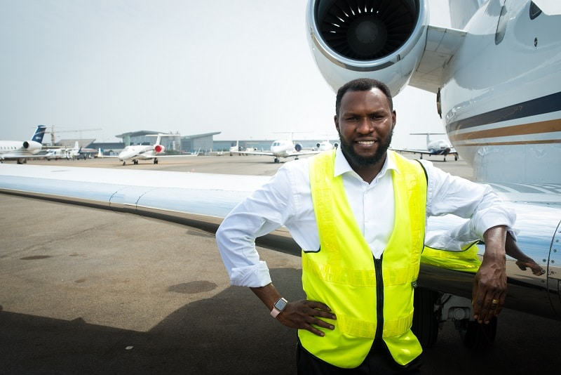 Nigeria news : Aircraft Engr, Isaac Balami features in Pleasures Magazine, tells success stories, challenges [PHOTOS]