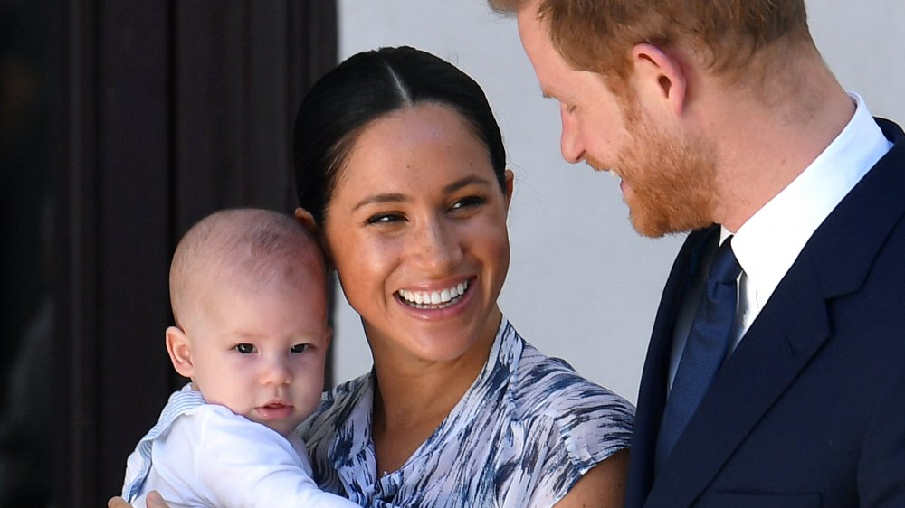 These are baby Archie's once-secret godparents