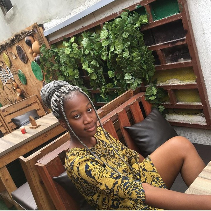 Victor Osuagwu's daughter goes viral after she shares a tweet identifying the veteran actor as her father (photos)