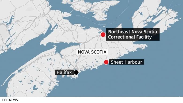 Escaped prisoner back in police custody in Nova Scotia