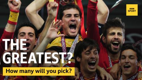 Spain lift the 2012 trophy