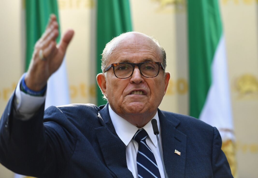 Rudy Giuliani Says Black Lives Matter Wants To 'Take Your House Away From You'