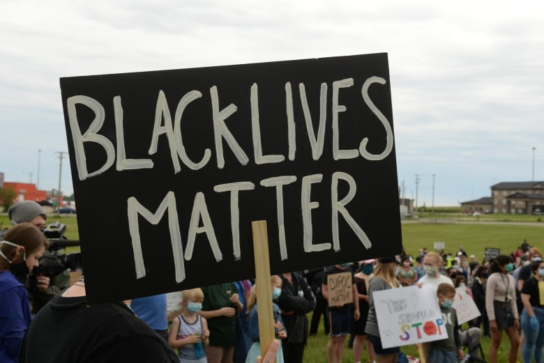 Small Alberta town's Black Lives Matter demonstration draws hundreds despite racist backlash
