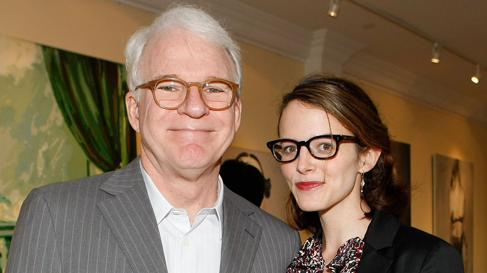 Steve Martin's wife is young enough to be his daughter