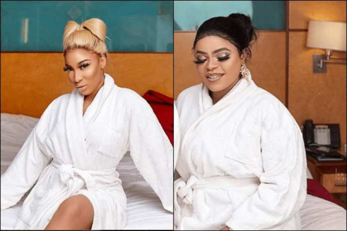 """""""I Promise To Be Loyal To You Till Death Do Us Part"""" – Bobrisky Tells Tonto Dikeh"""