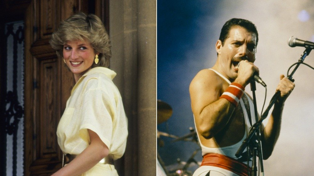 Inside Princess Diana's sneaky relationship with Freddie Mercury