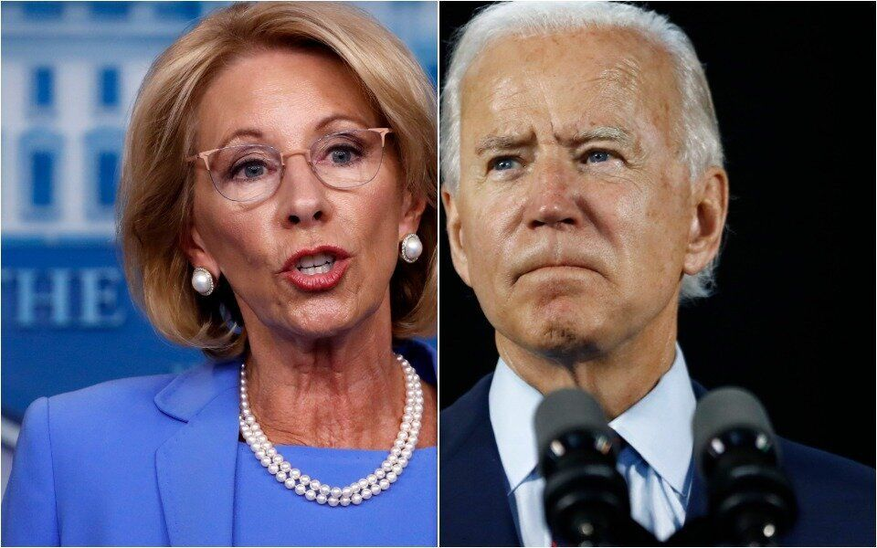 Joe Biden Hammers Betsy DeVos With A Promise That Has His Supporters Fired Up