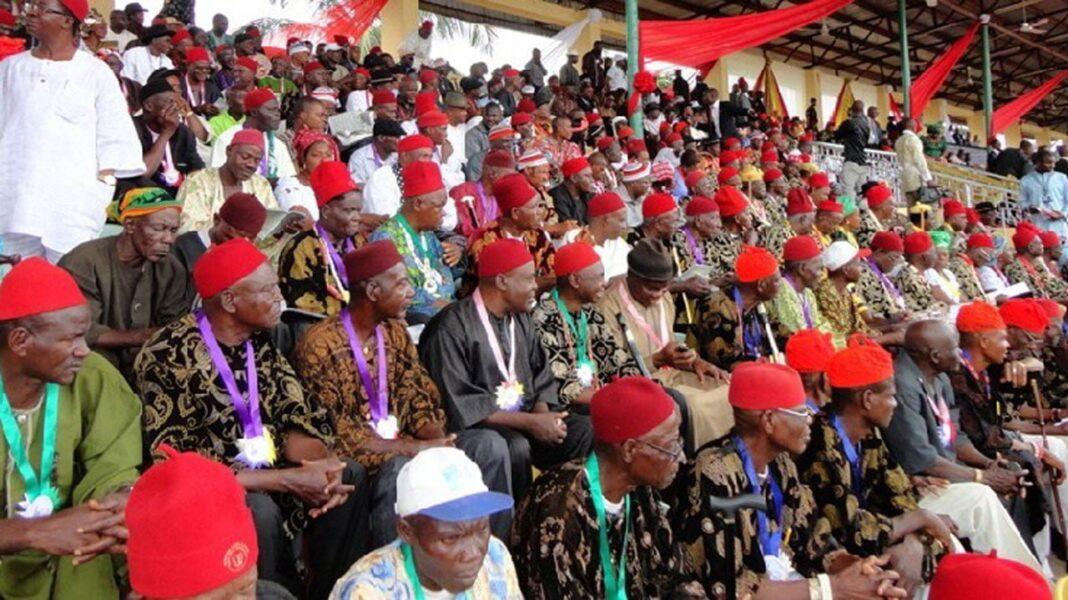 Nigeria news : Nwodo: Erring Igbo elders should be stoned – Ohanaeze backs Nnamdi Kanu