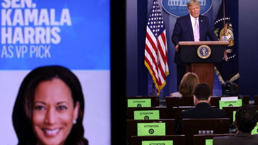 How Donald Trump really thinks of Kamala Harris