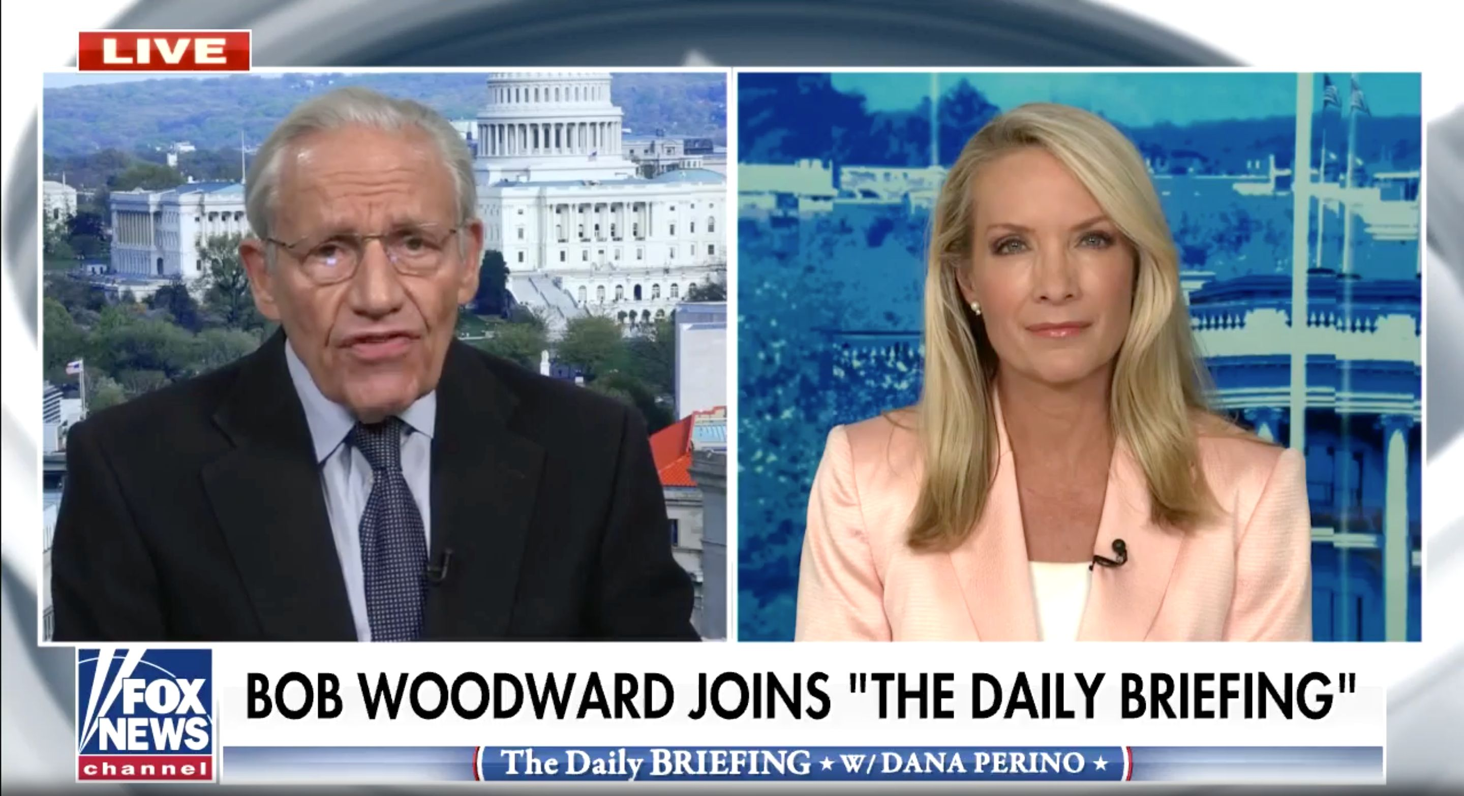 Bob Woodward Clashes With Fox News Host Over His Conclusions About Trump this is why