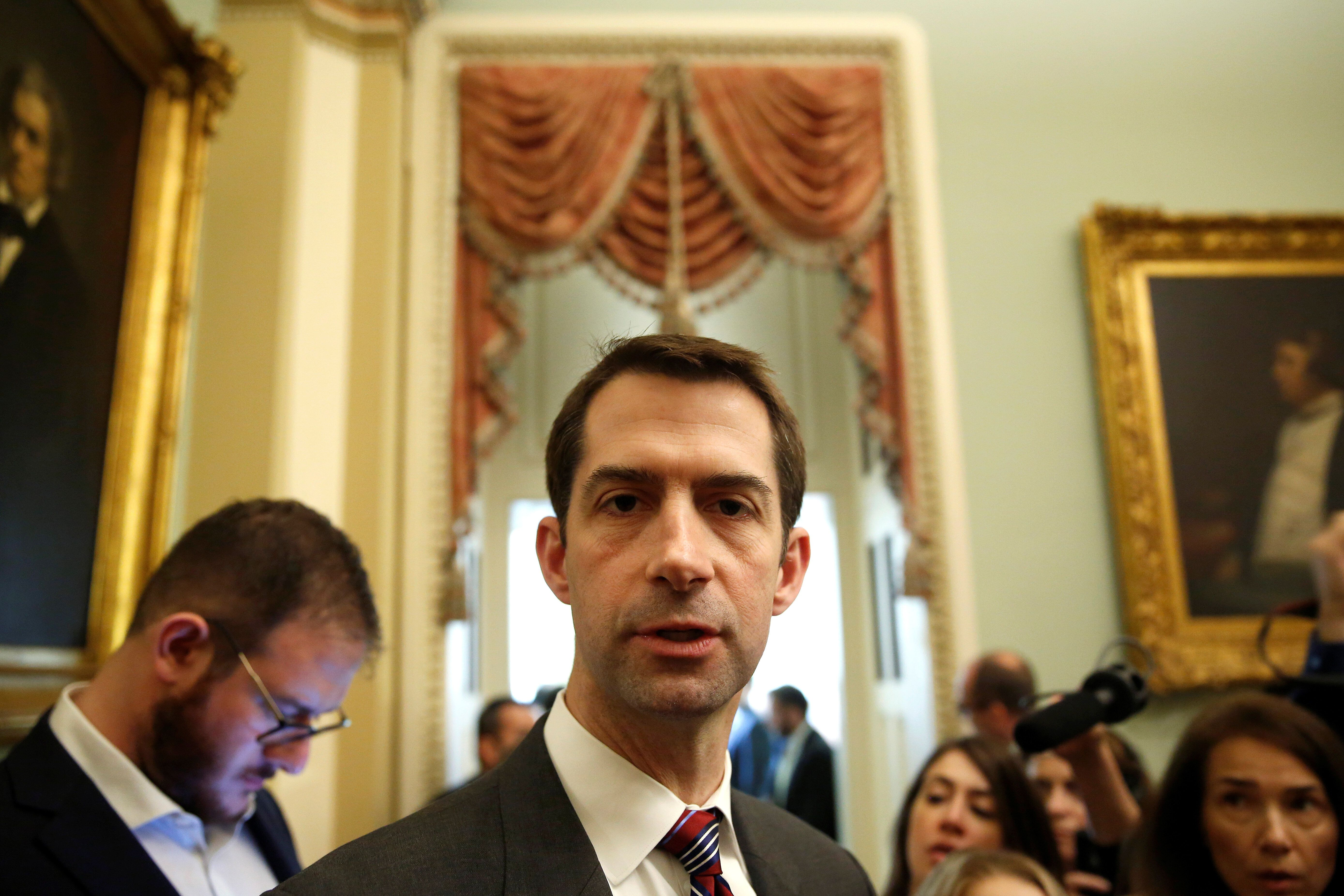Chris Wallace Grills Sen. Tom Cotton Over His Supreme Court Hypocrisy