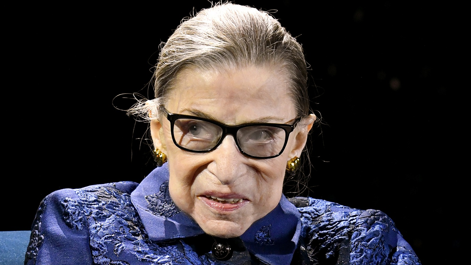 Within Ruth Bader Ginsburg's life before she passed away