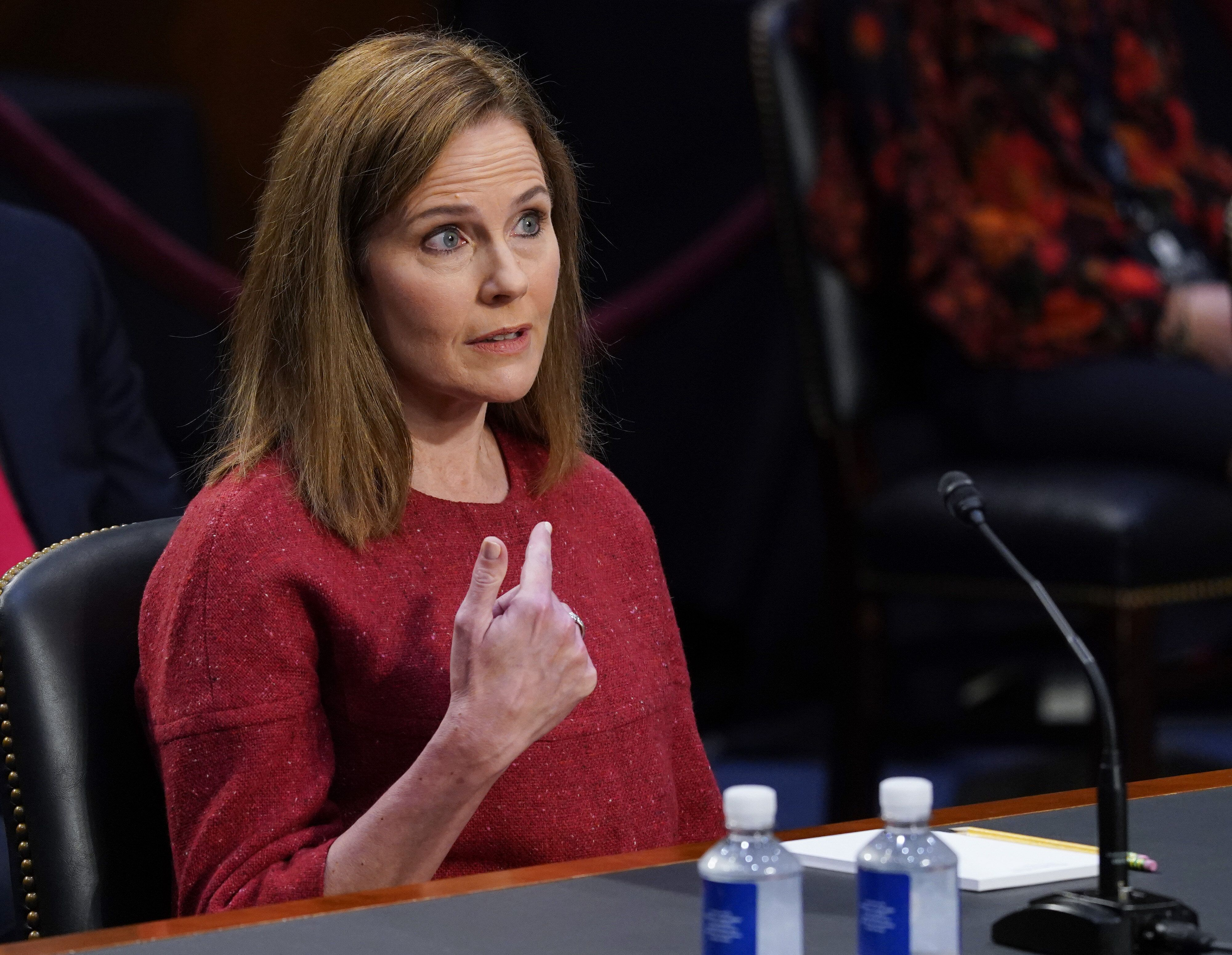 Amy Coney Barrett Refuses To Say Whether President Can Delay Election