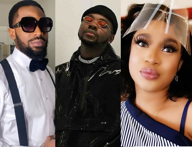 Angry Nigerians call out Dban'j, Kizz Daniel, Tonto Dikeh and other celebs for staying mute over #EndSARS campaign