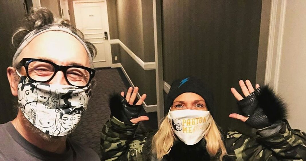 Kristin Chenoweth and Alan Cumming, More Stars Wearing Masks Amid Coronavirus