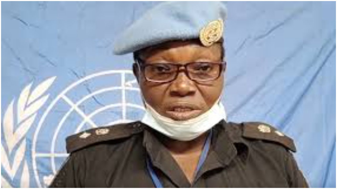 Nigeria news : Nigeria's Catherine Ugorji CSP emerges runner-up for UN Woman Police Officer of the Year