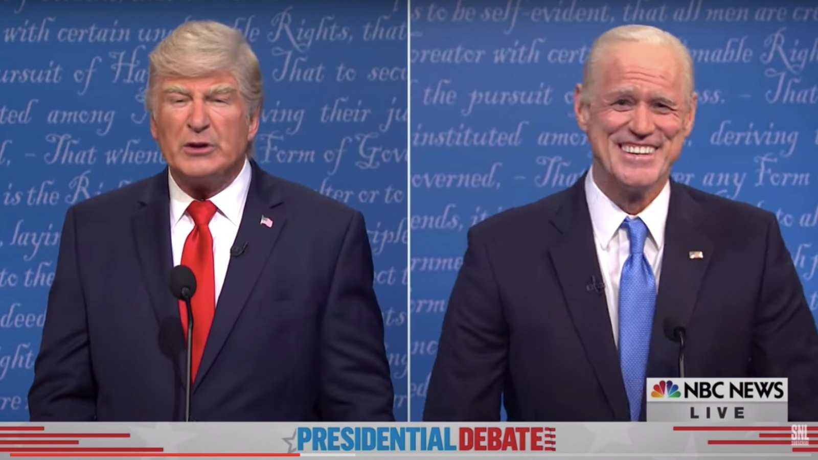 Why fans are once again upset with SNL's latest debate skit