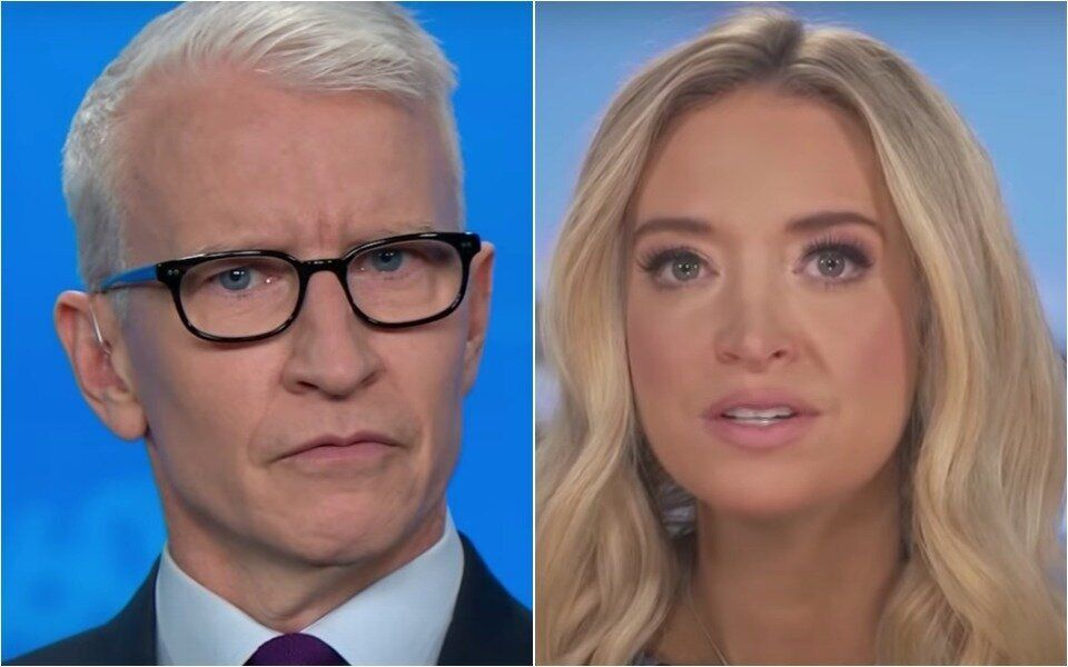 Anderson Cooper: Kayleigh McEnany Just Took Us 'Completely Through The Looking Glass'