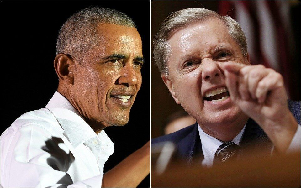 Barack Obama Has A Damning Description Of Lindsey Graham In His New Book