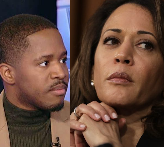 Comedian Terrence K Williams comes under fire for claiming Kamala Harris 'slept her way to the top'