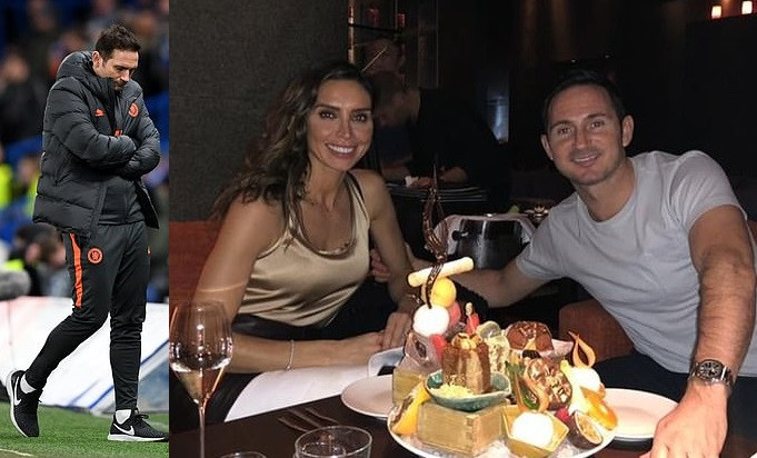 'If we lose, I'm a nightmare' - Frank Lampard reveals his wife Christine is banned from arranging dinners and social events after Chelsea matches