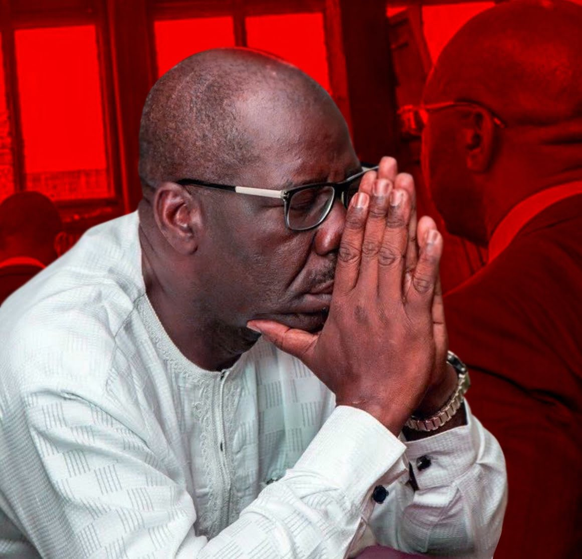 Nigeria news : Edo: Obaseki's Aide-de-camp collapses