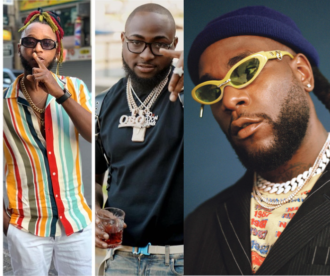 """Yung6ix calls on Davido and Burna Boy to quash their """"beef"""" over fear it may escalate"""