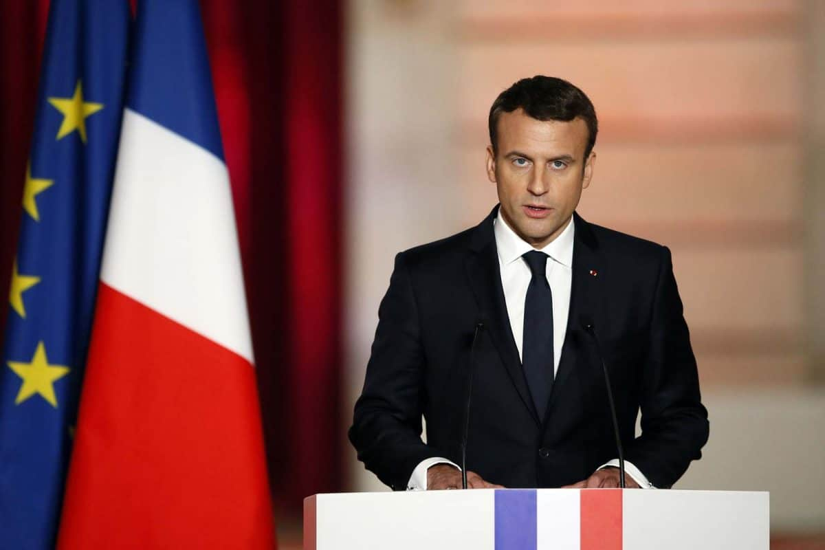 Nigeria news : French President, Macron tests positive for COVID-19