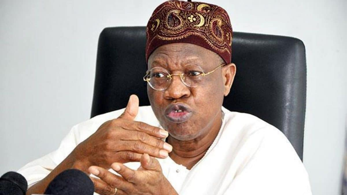 Nigeria news : Insecurity: Buhari will not resign – Lai Mohammed fires back at Northern elders