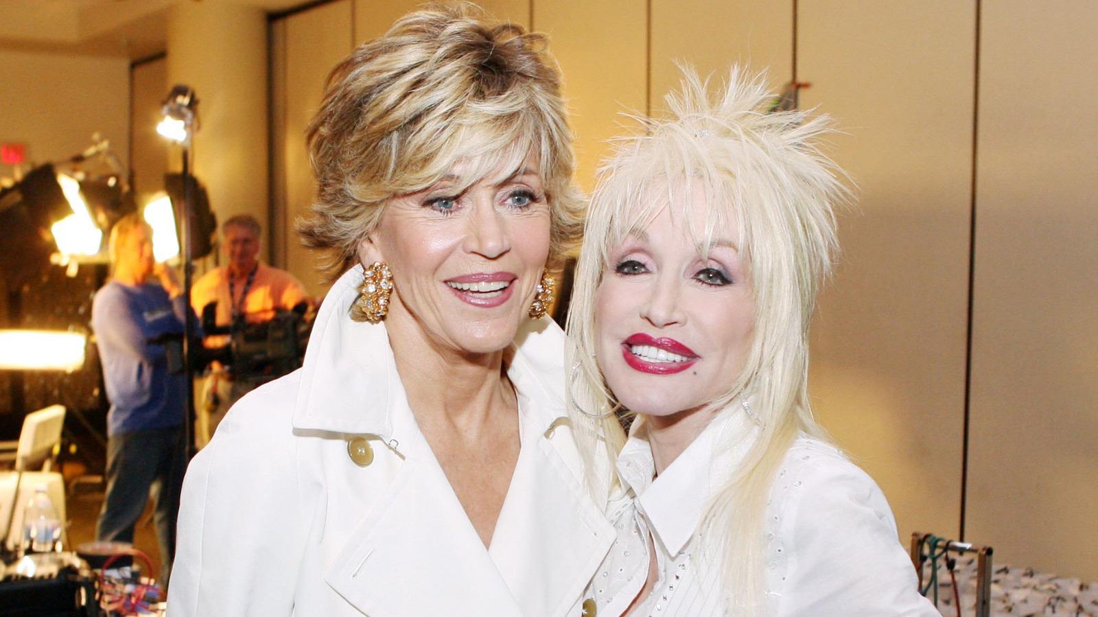 Inside Dolly Parton And Jane Fonda's Friendship