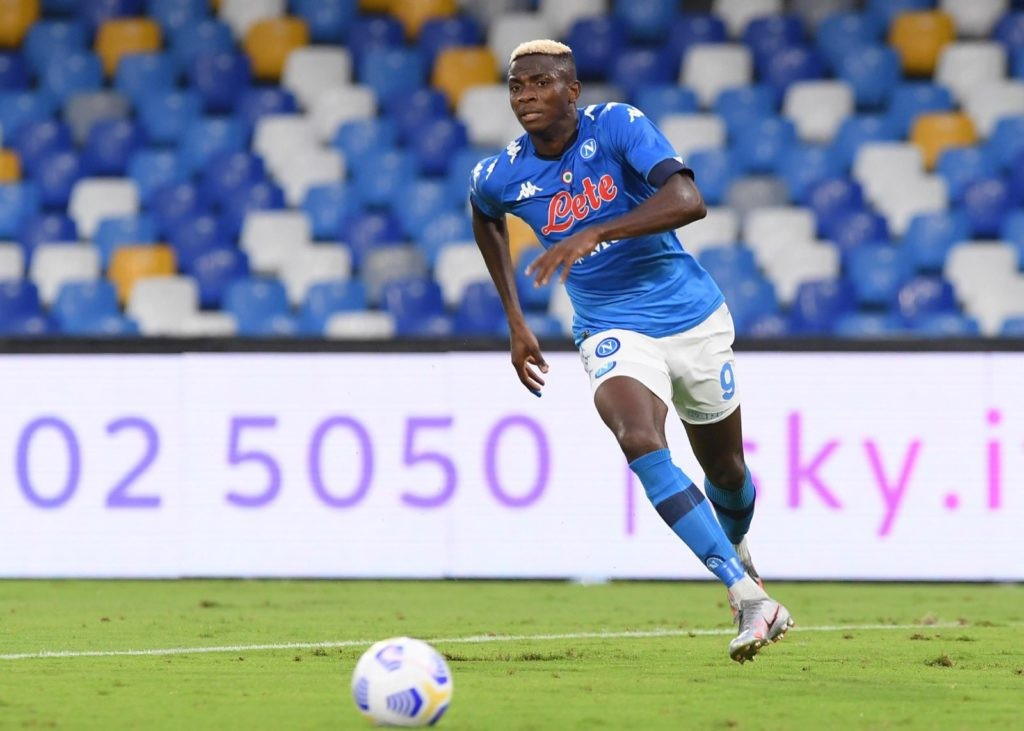 Napoli striker, Victor Osimhen finally recovers from coronavirus