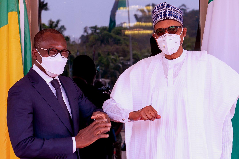 Nigeria news : Buhari, Talon discuss Nigeria-Benin relations