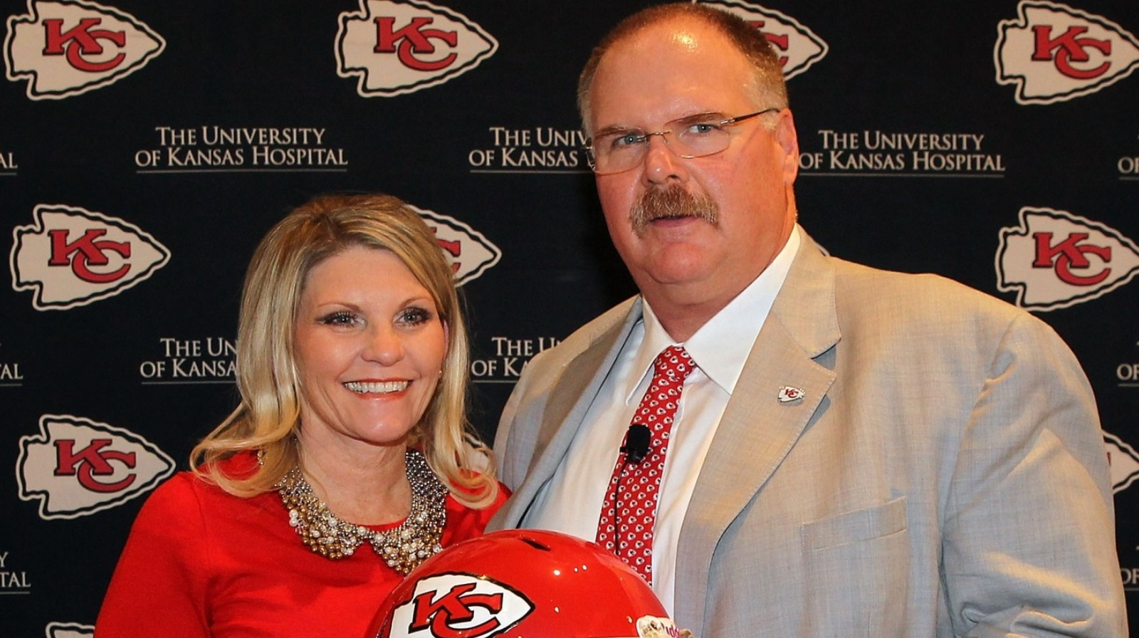 The Name Only Andy Reid's Wife Can Get Away With Calling Him