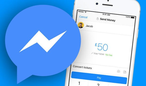 Send and receive money with Facebook messenger