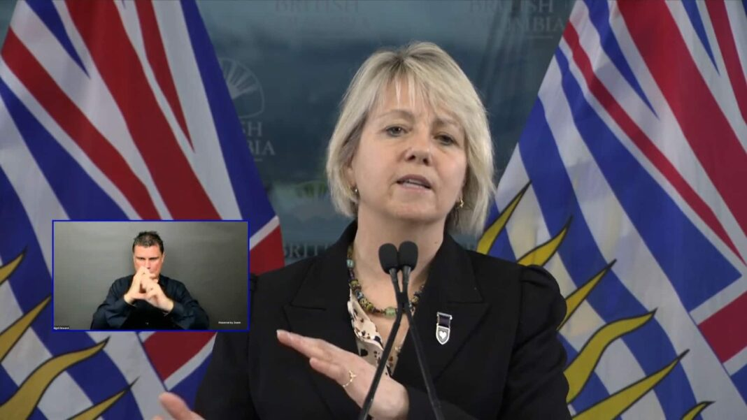 B.C. extending pandemic restrictions indefinitely