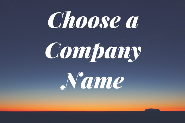 How to choose a company business name
