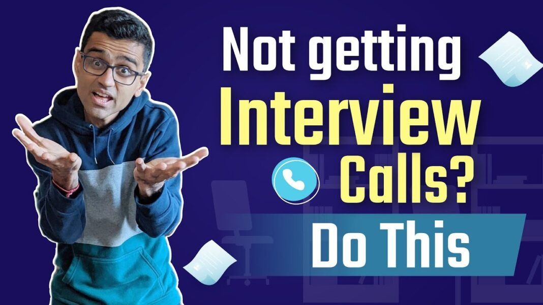 This is why you're Not Getting Called Back for Interviews