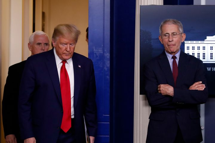 Dr. Fauci: Trump Let 'Terrible Things' Happen After Our COVID-19 Disagreements