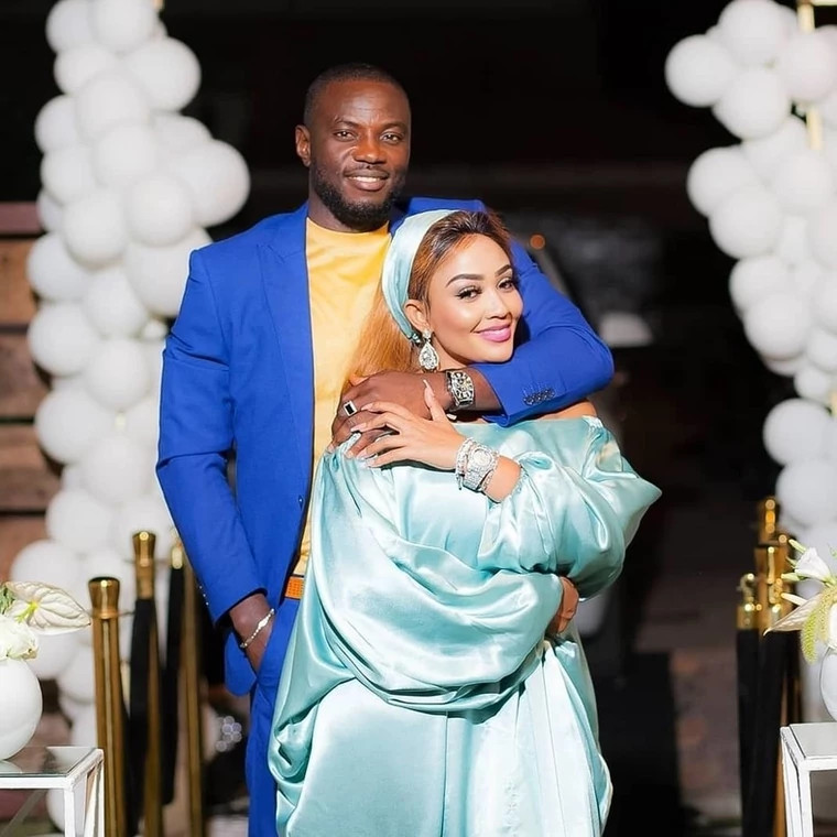 Even if it ends in tears, is it your tears - Zari Hassan fires back after being trolled for showing off her new man 3