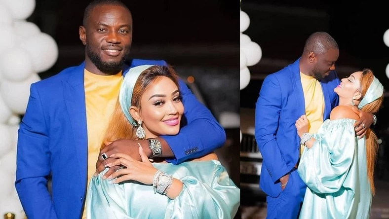 Even if it ends in tears, is it your tears - Zari Hassan fires back after being trolled for showing off her new man