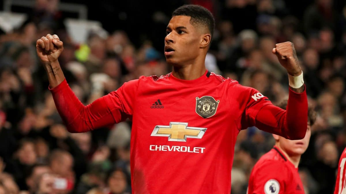 Man United vs Southampton: Rashford reacts after breaking Eric Cantona's record